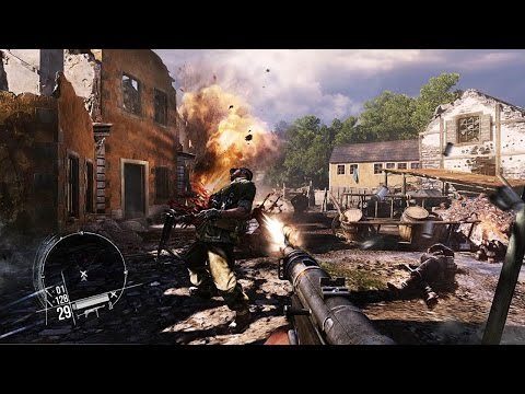 CINEMATIC SHOOTER GAME ABOUT WORLD WAR 2 ! Enemy Front