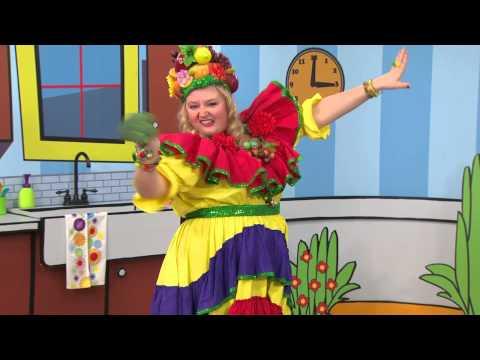 Madame Fruitée danse : Brocoli