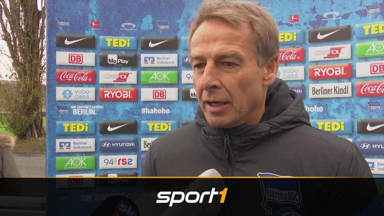 Trotz verspielter Führung: Klinsmann lobt Entwicklung | SPORT1