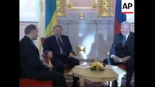 RUSSIA: UKRAINIAN PRESIDENT KUCHMA MEETS YELTSIN  (V)