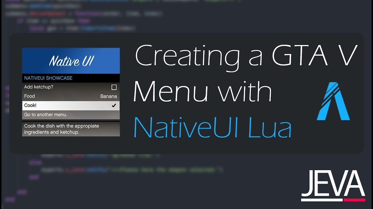 FiveM - Creating a Menu with NativeUI Lua