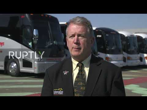 USA: Bus Companies Stage
