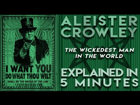Aleister Crowley, the Wickedest Man in the World | Explained in 5 Minutes | reallygraceful
