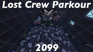 How To Complete Lost Crew Parkour 2099 by Vanyapoker | Fortnite Creative Guide (10 Coins)