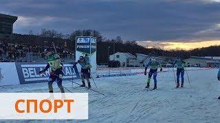 Сборная Украины в смешанной эстафете выиграла золото на чемпионате Европы
