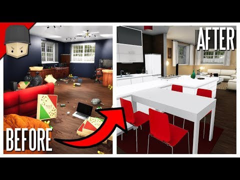 House Flipper - BUYING A GAMING HOUSE! (House Flipper Gameplay)