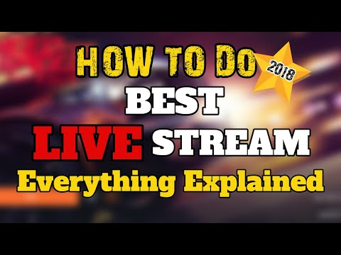 How To Do Best YouTube Live - Ultimate Guide 2018