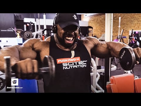 How the Champ Builds His Shoulders | IFBB Pro Bodybuilder Cedric McMillan