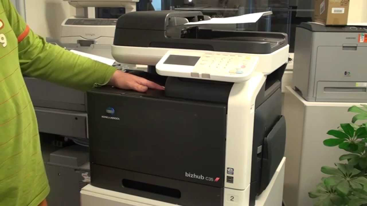 Konica Minolta Bizhub C35 Multifunction Laser Printer