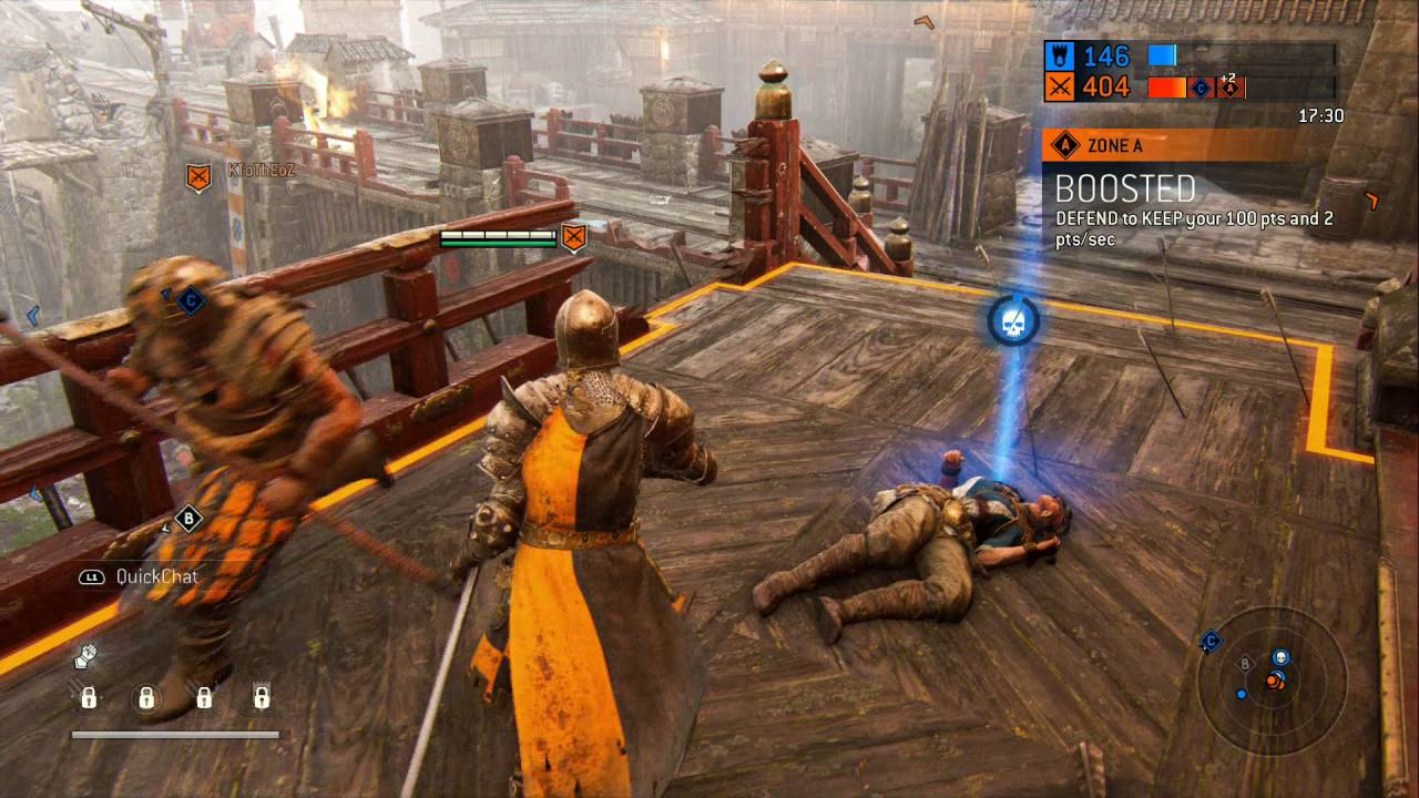 FOR HONOR - PS4 - Multiplayer - Warden GAMEPLAY