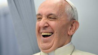 The Pope wants to hear your best joke