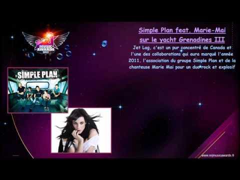 Simple Plan Feat Marie Mai Yacht Nrj Music Awards 2012 28 01 12 Vers 17 20 Youtube