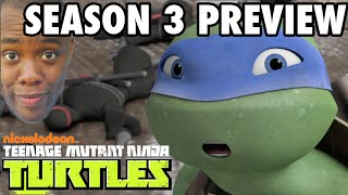 NINJA TURTLES Season 3 Preview & Characters : Black Nerd