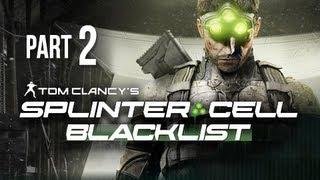 Splinter Cell Blacklist Gameplay Walkthrough Part 2 - Andriy Kobin Extraction