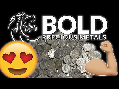 Im feeling BOLD! Spot Price Special Silver Unboxing! :D
