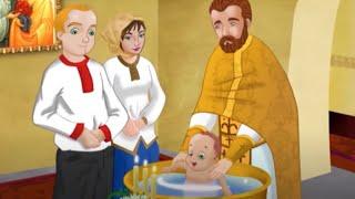 Мультфільм 'Святі Таїнства. Таїнство Хрещення'