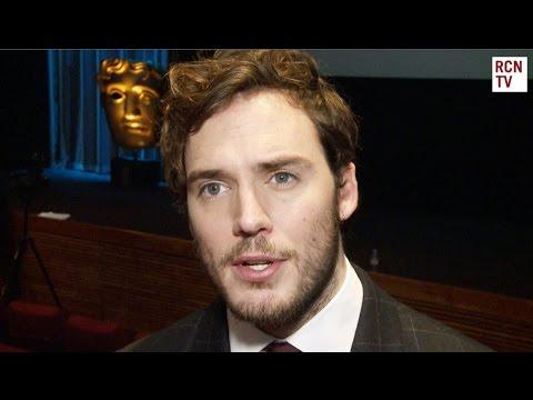 Sam Claflin Interview - BAFTA Film Awards, Benedict Cumberbatch & Eddie Redmayne