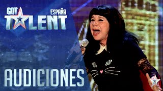 Mila homenajea a Nino Bravo | Audiciones 6 | Got Talent España 2016