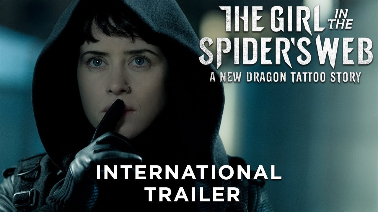 19c6956b8 THE GIRL IN THE SPIDER'S WEB – International Trailer - YouTube