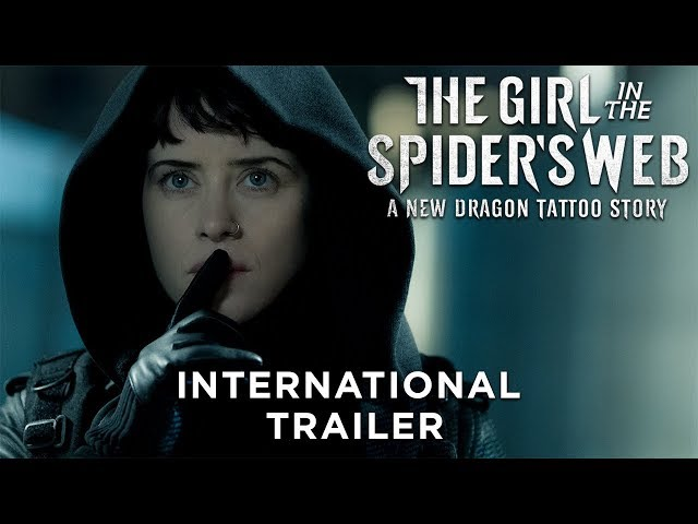 THE GIRL IN THE SPIDER'S WEB - International Trailer