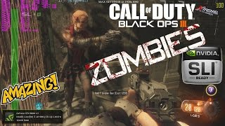 COD: Black Ops III – Zombies PC | Max Settings | Multiplayer | 2x 980m SLi | Benchmark | 1080p 60fps