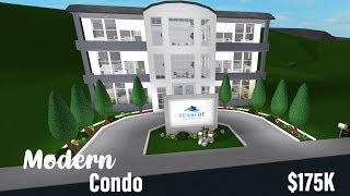 ROBLOX: Welcome to Bloxburg || Modern Condo - $175K