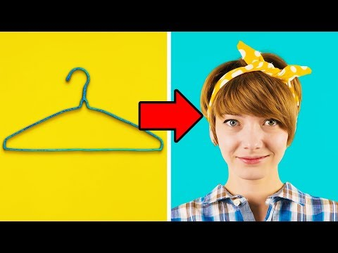 25 BRILLIANT USES FOR OLD WIRE HANGERS