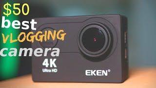 $50 Best Vlogging 4K Action Camera - Eken H9R