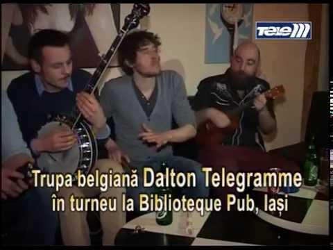 Interviu pentru Coltu Vesel cu Dalton Telegramme in Biblioteque Pub Iasi