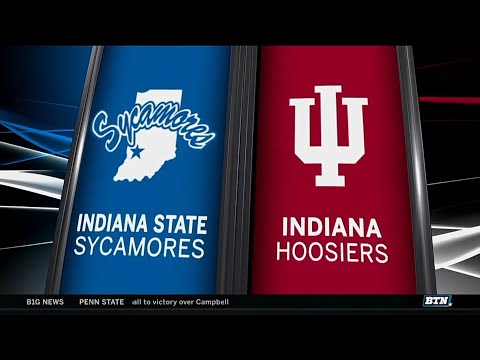 Indiana State at Indiana - Men's Basketball Highlights