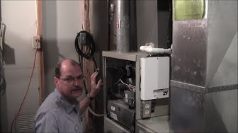 How to Locate Your Furnace Model and Serials Numbers