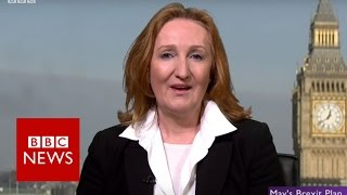 Theresa May Brexit speech was 'channeling UKIP' says Suzanne Evans   BBC News