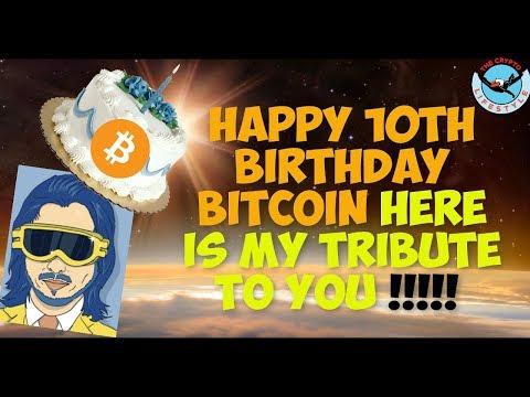 Tribute To Satoshi Nakamotto & Bitcoin's 10 Year Anniversary
