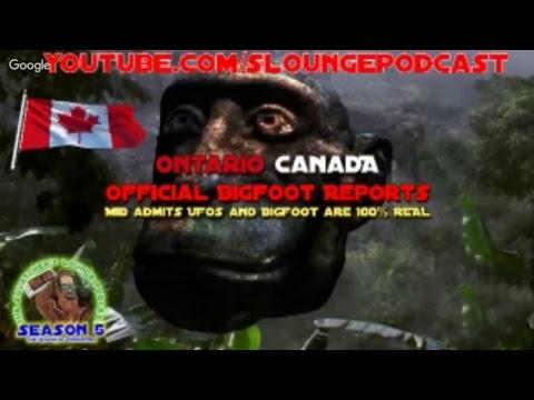 Canada Bigfoot Halloween Special