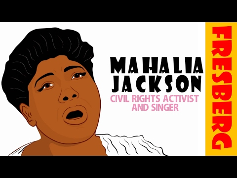 Black History Month Video for Kids: Who is Mahalia Jackson? (Educational Cartoon for Children)