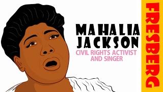 Black History Month Video: Who is Mahalia Jackson? (Educational Cartoon for Children)