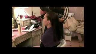 Выпрямление волос и завивка