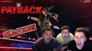 It's Reigning again!!!  WWE Payback AJ Styles VS Roman Reigns Reaction
