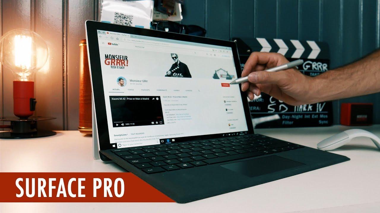 f14a02b0784b1 Microsoft Surface Pro   Le Test - YouTube