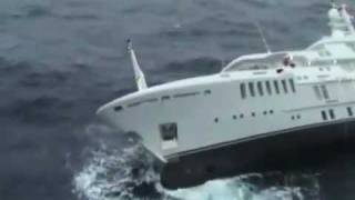 The sinking of superyacht Yogi