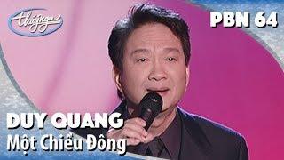 Duy Quang - Một Chiều Đông (Tuấn Khanh) PBN 64