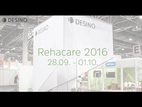 DESINO Rehacare 2016 - Highlights - Dynamisches Sitzen/Hebelantrieb/Gangschaltung