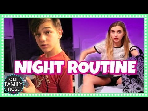 OUR NIGHT ROUTINE (FAMILY BEDTIME ROUTINE)