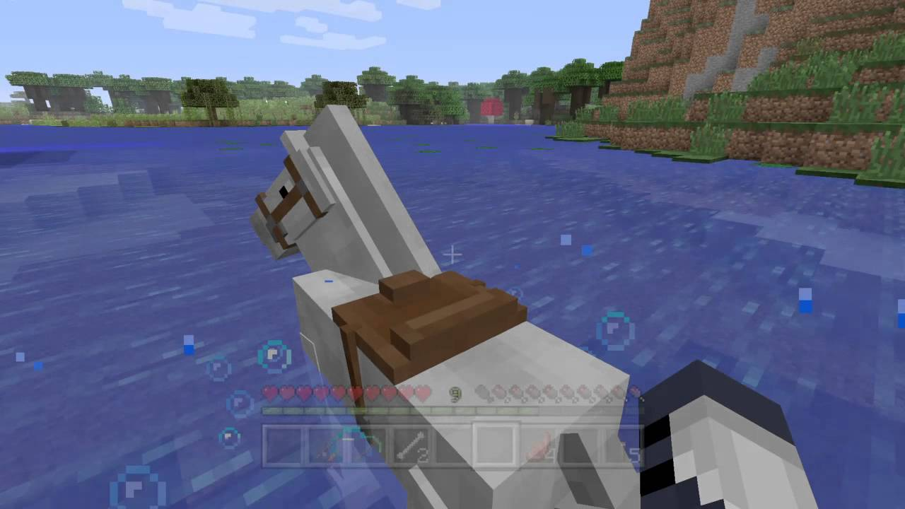 Minecraft: PlayStation®11 The Swimming Horse - YouTube