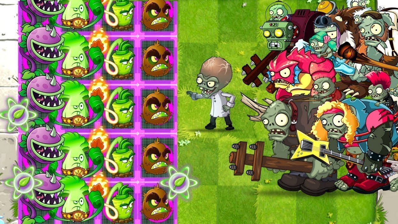 No 1 Chomper Strategy Plants vs Zombies 2 The best Power ...