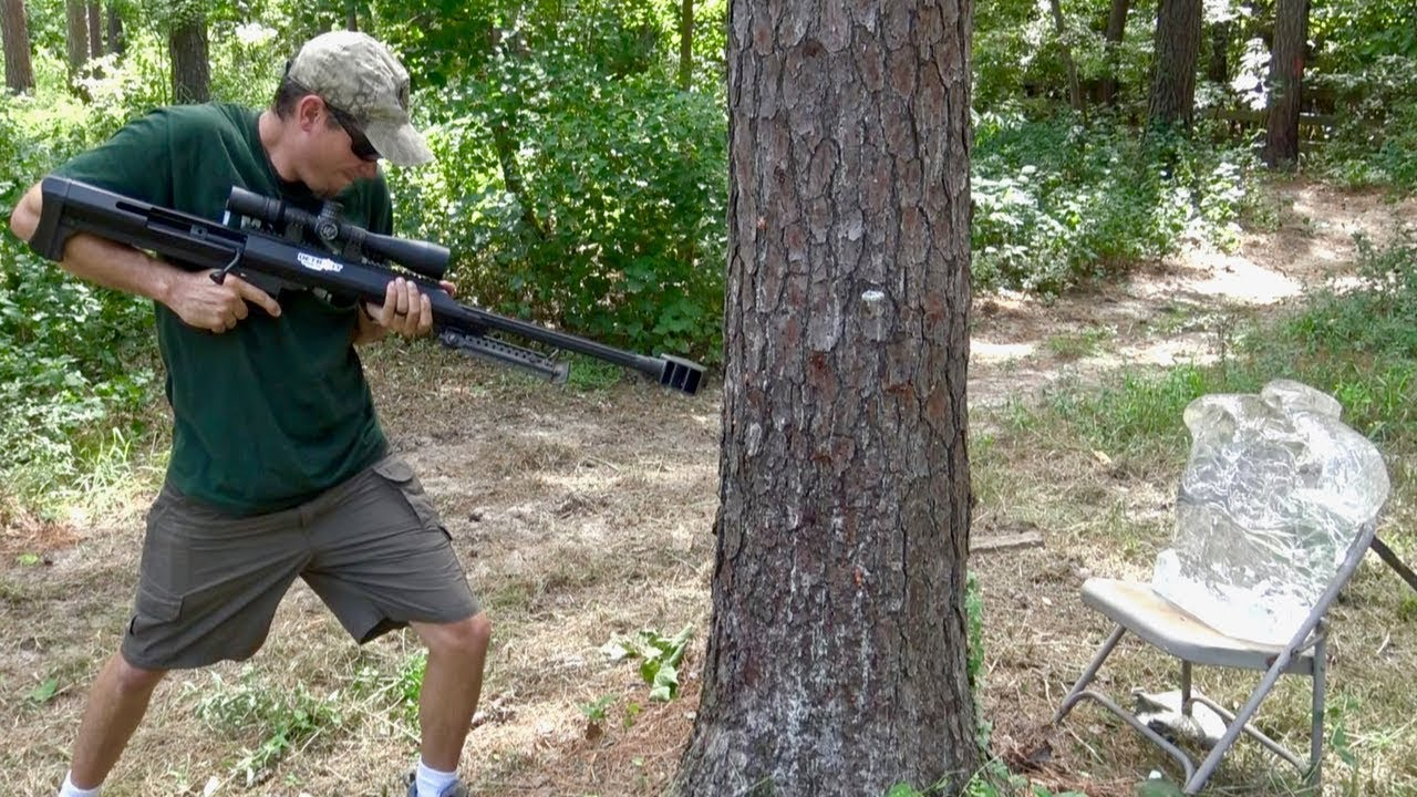 Shooting THROUGH Trees!  PUBG in Real Life
