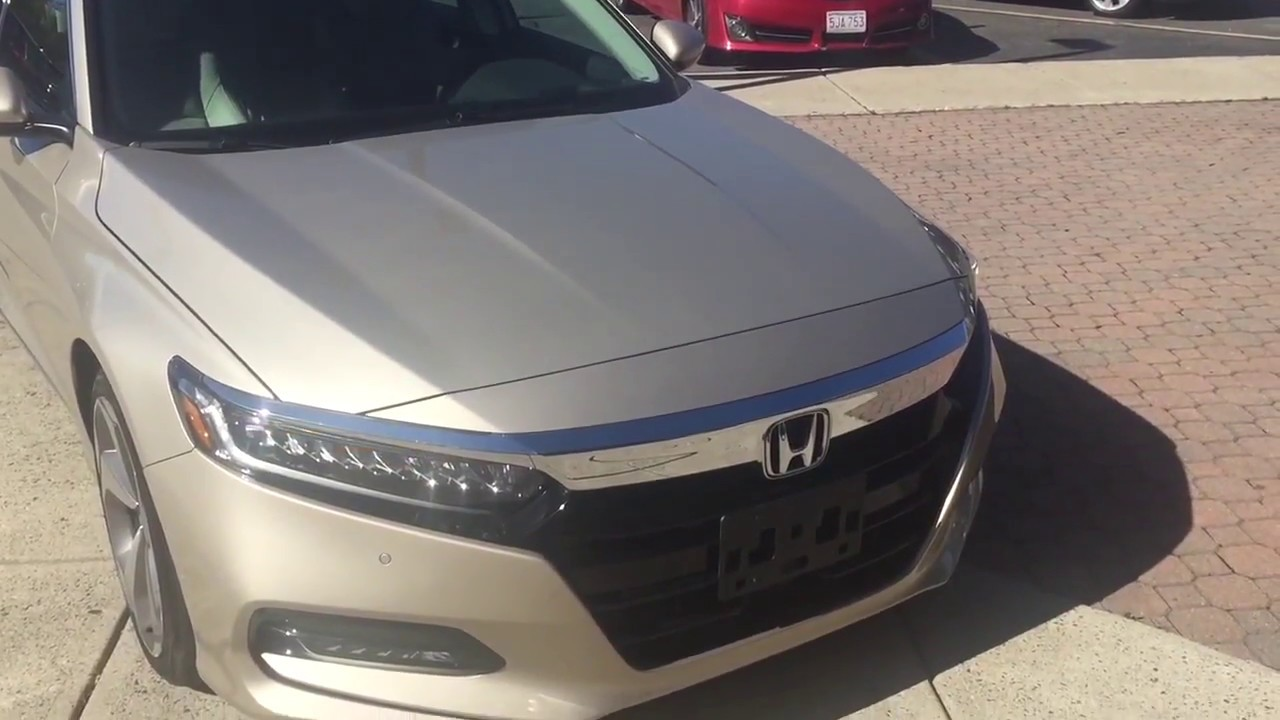 2018 Honda Accord Touring Champagne Frost Pearl Accordtouring