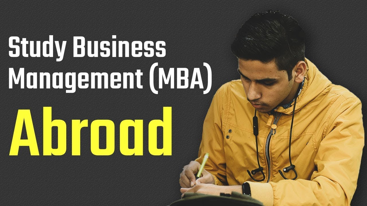 Study Business Management (MBA) Abroad | GMAT vs. GRE | Expert Speak | Alok Bansal
