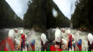 "3D Ocoee River Whitewater Rafting 9 ""The Washing Machine"""