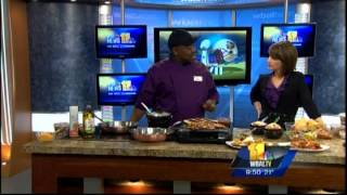 Chef Dukes on WBAL Cooking Special